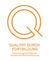 Fortbildungszertifikats Qualität durch Fortbildung